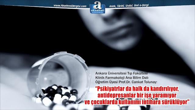 prozac, paxil, lustral, antidepresan, antidepresan tuzağı, çocuklarda antidepresan, intihar eğilimi, yan etkiler, cankat tolunay,