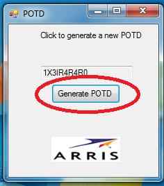 como Direcionar portas modem Arris TG862