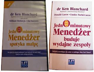 okładki książek Jednominutowy menedżer