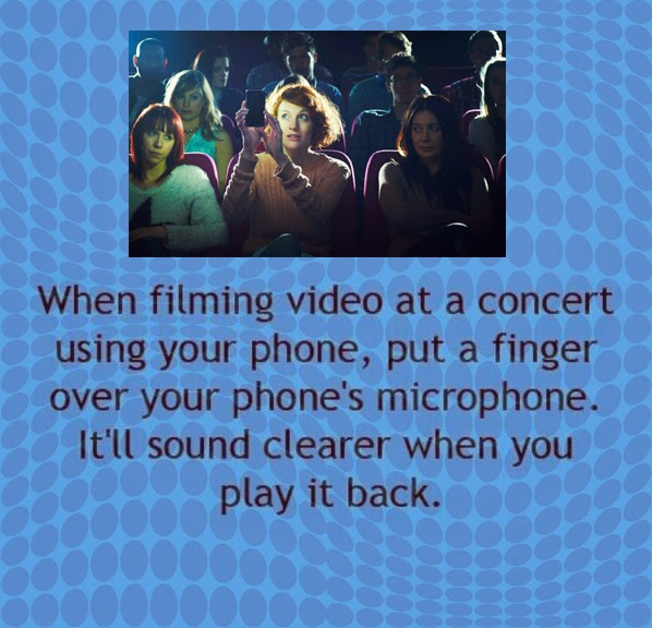 Making Movies at Concerts