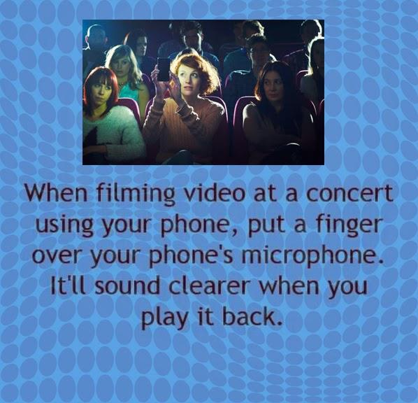 Making Movies at Concerts