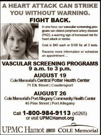 8-26 Vascular Screening Programs