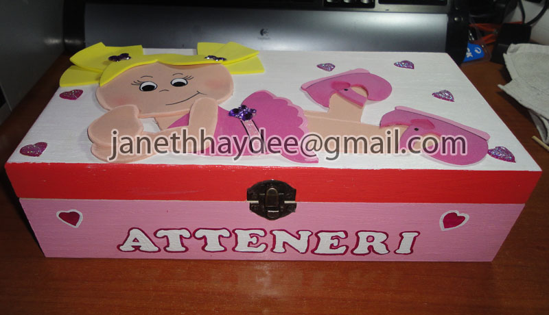 Janeth haydee manualidades cajas de madera decoradas - Manualidades con cajas de madera ...