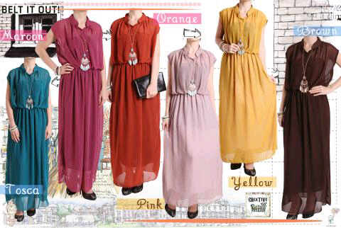 maxi dress double purring @ 100 set cadri dress flowry 2 @ 80