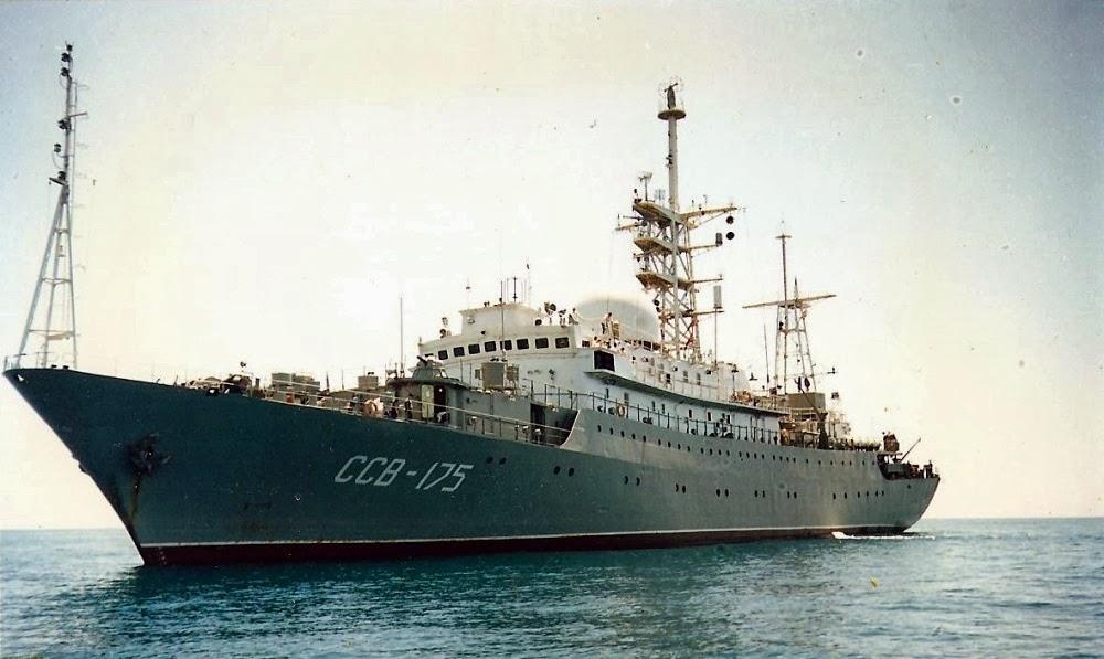 Kapal Mata-mata Rusia Muncul Mendadak di Kuba