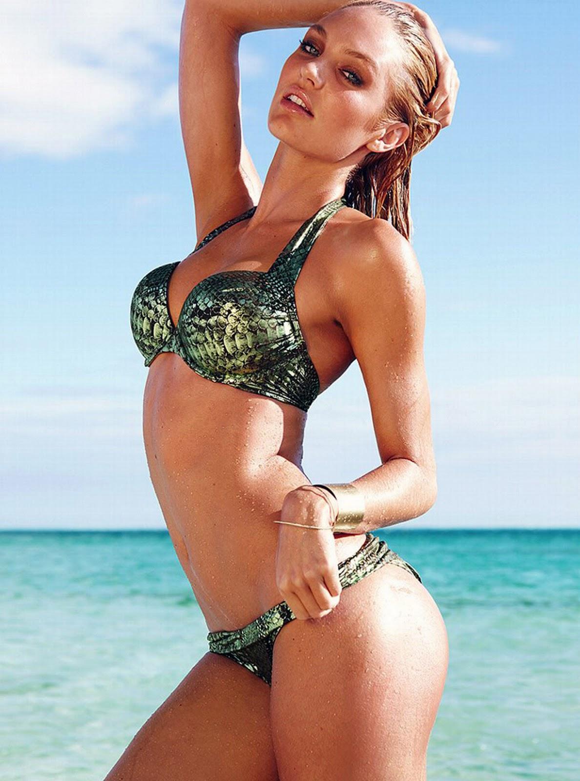 victoria secrets candice swanpoel in bikini