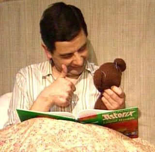 Mr.Bean dengan Bonekanya, teddy bear