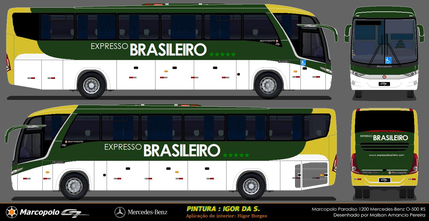 desenhos de onibus rodoviarios de todo o brasil expresso brasileiro. Black Bedroom Furniture Sets. Home Design Ideas
