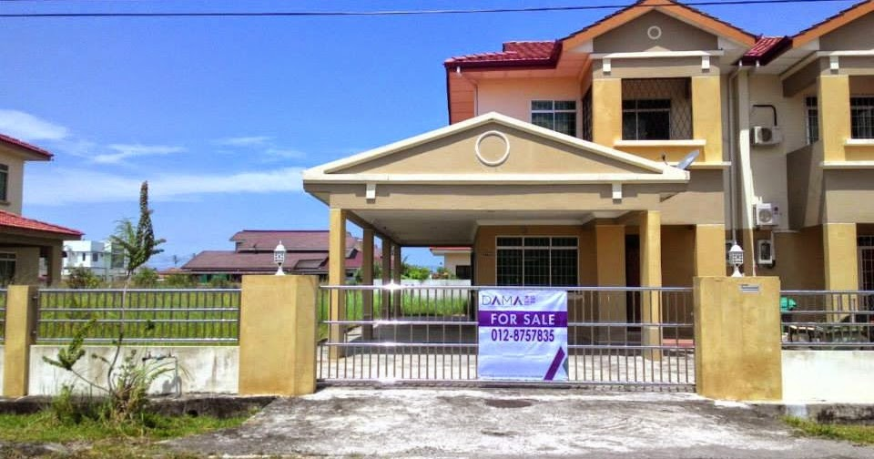 Desa pujut 2 double storey semi detached house for sale for 2 storey house for sale