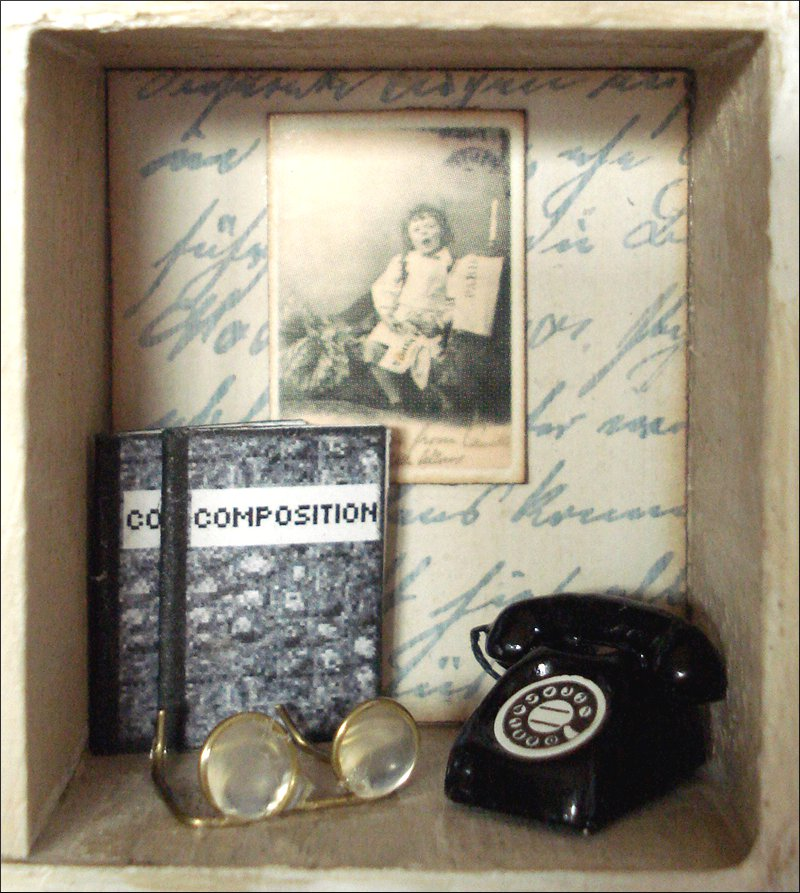 arts by tini office shadow box mini b ro. Black Bedroom Furniture Sets. Home Design Ideas