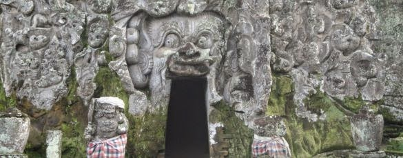 Goa Gajah Bali Elephant Cave Temple - Gianyar, Bali, Hindu, Temple, Holidays, Tours, Attractions
