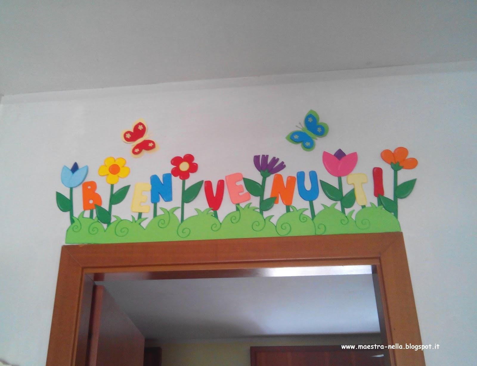 Accoglienza Scuola Infanzia Addobbi Estremamente Lavoretti