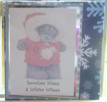 Tatty teddy xmas card