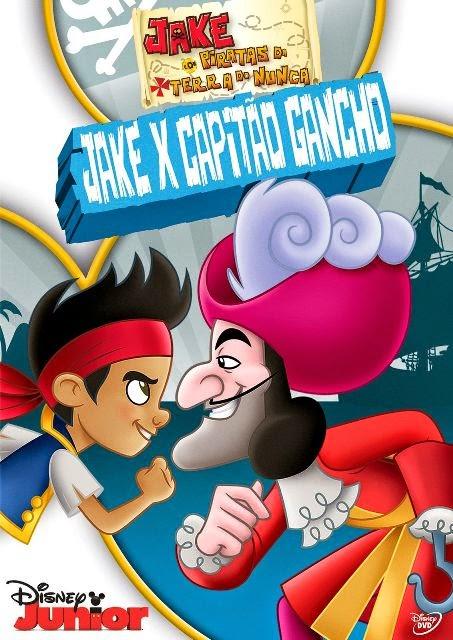 Jake e Os Piratas da Terra do Nunca: Jake x Capitão Gancho Online Dublado