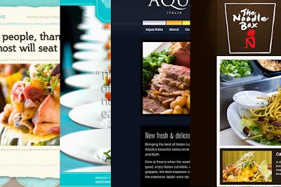 sitios web de restaurantes