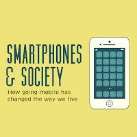 efectos, teléfonos inteligentes, sociedad, infografía