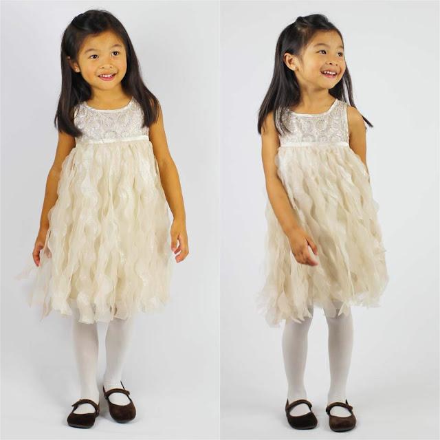 Biscotti Gold Luminous Lace Dress | Chichi Mary Blog