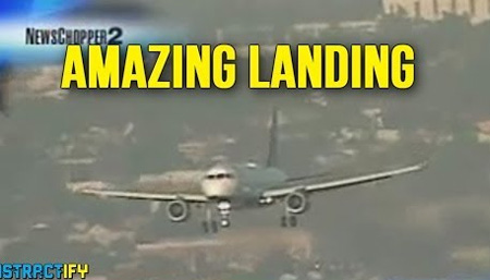 Pilot Pulls Off The Most Amazing Landing Ever
