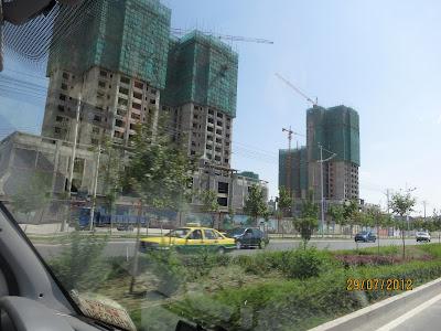 Hami en construction