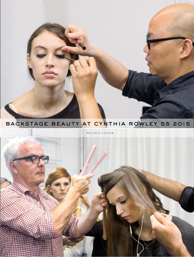 Daniel Martin at Cynthia Rowley Spring 2015, John Barrett at Cynthia Rowley Spring 2015