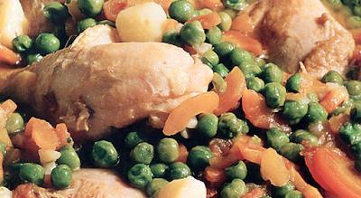 recetas de cocina pollo arvejado