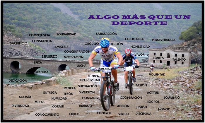Ángel Denche. Ciclismo: Más que un deporte.