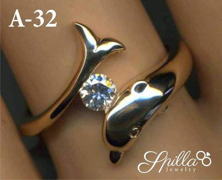 Cincin Single A-32 (Dolphin )