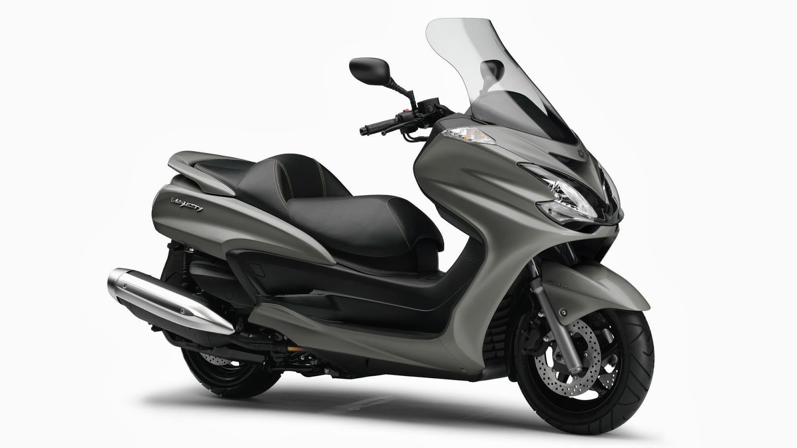 Yamaha New Majesty Scooter YP400 Bike Images 2014