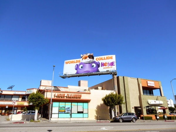 Home movie billboard