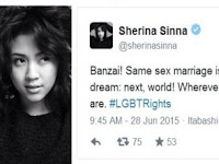 GILA ! Banyak Artis Yang Terang-terangan Kampanye LGBT