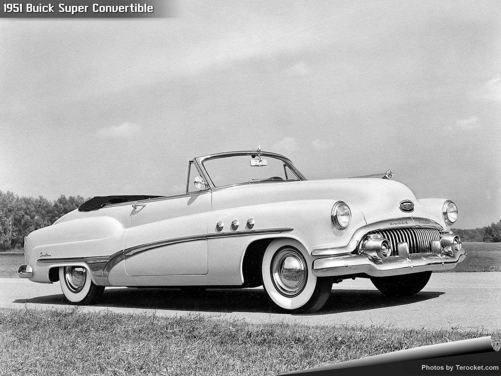 Hình ảnh xe ô tô Buick Super Convertible 1951 & nội ngoại thất