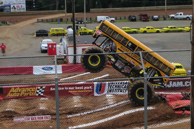 Higher Education Monster Truck - Hagerstown Speedway
