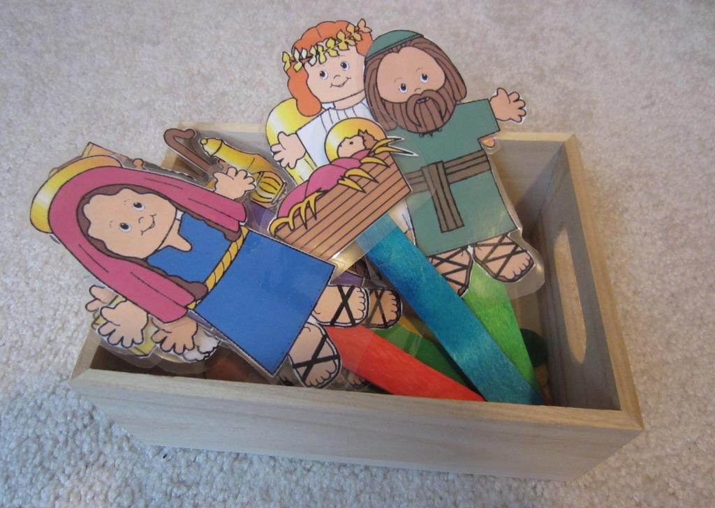 printable nativity figures free