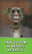 لعبة القط الناطق Talking Tom Cat مجانا على اندرويد