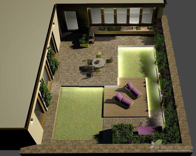 nowoczesne ogrody na dachu warszawa