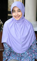 The Jilbab is a very common sight