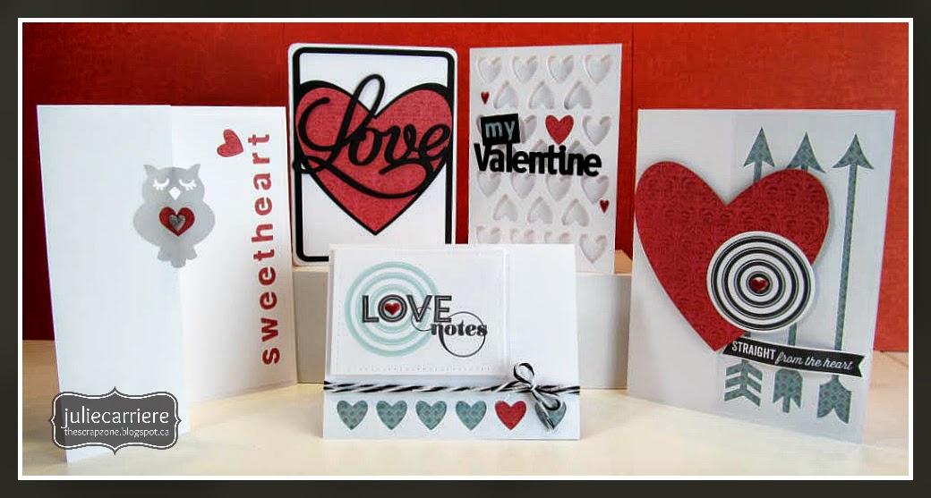 CTMH Valentine Cards