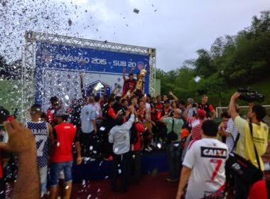 Vitória perde Ba-Vi, mas é campeão baiano sub-20 2015