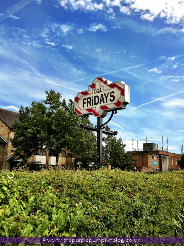 TGI Friday's Watford Review at The Purple Pumpkin Blog