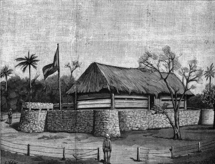 Fortín de Castillito, en Cuba