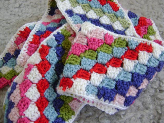 Free Crochet Pattern Diagonal Blanket : Crochet Diagonal Scarf ? Crochet Club