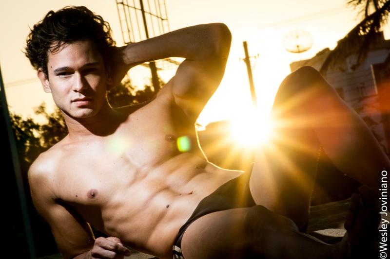 Edu Rosa representa o Estado de Rondônia no Mister Brasil Mundial Universo 2012. Crédito: Wesley Joviniano