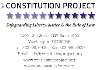 <b>Constitution Project Report on Detainee Treatment</b>