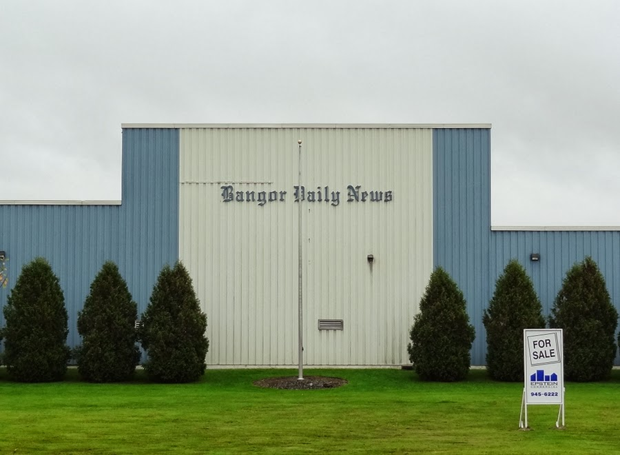 Bangor Daily News,Printing Plant,Printing Press,For Sale,Hampden Maine