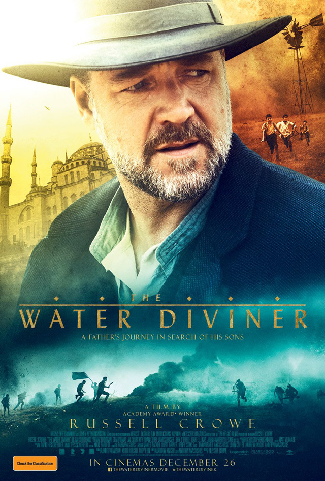 Sinopsis Film The Water Diviner (Russell Crowe, Olga Kurylenko, Jai Courtney)