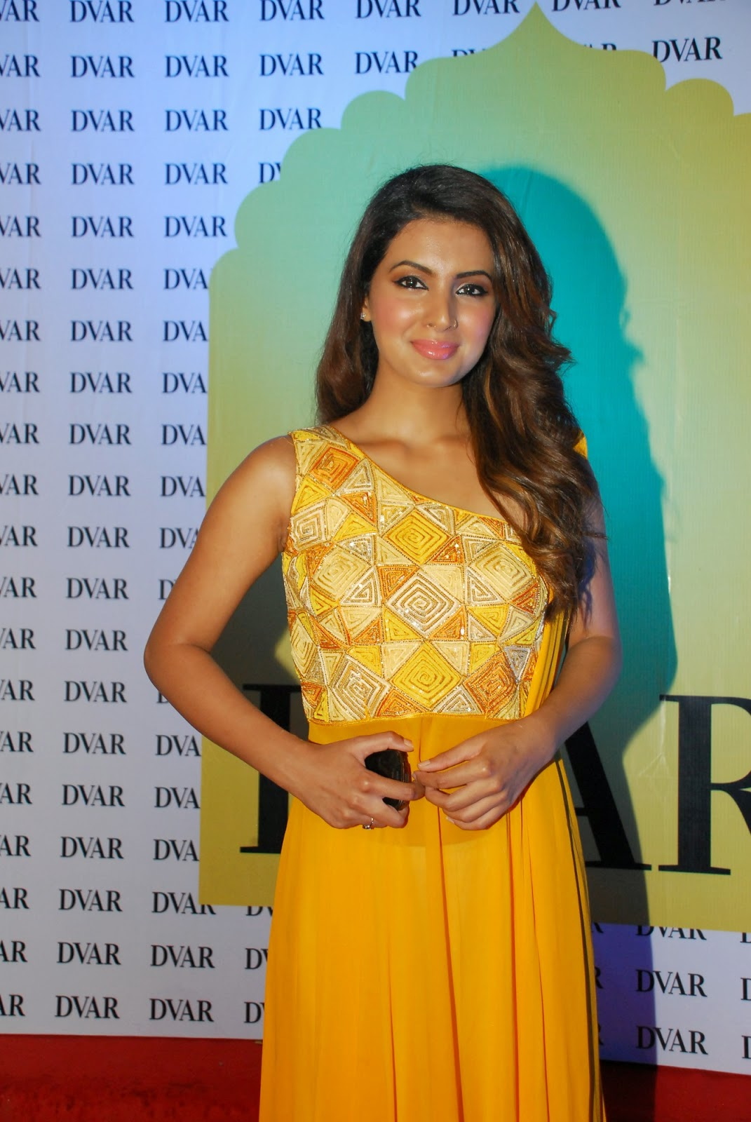 Geeta Basra at DVAR Photography and Fashion Exhibit Event