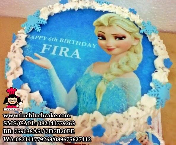 kue tart frozen disney movie daerah Surabaya - sidoarjo