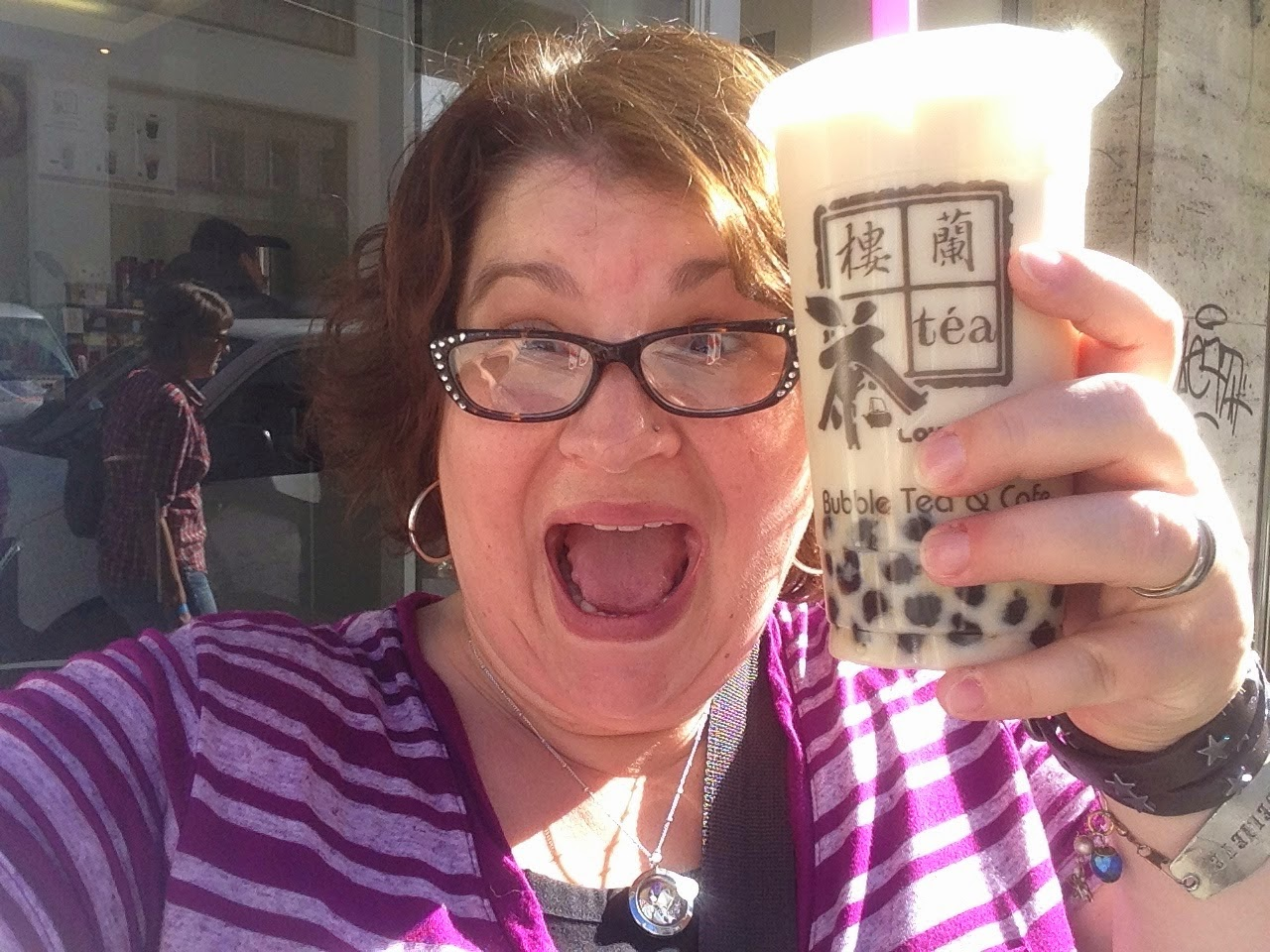 Lou Lan Cha Bubble Tea in Munich Germany 2014