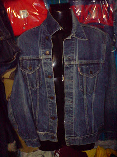 vintage jacket big E