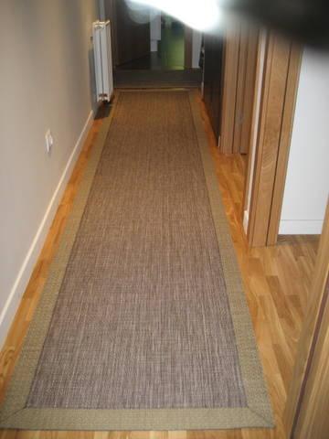 Decorar con cortinas y mucho m s alfombras de vinilo - Alfombras para pasillos modernas ...